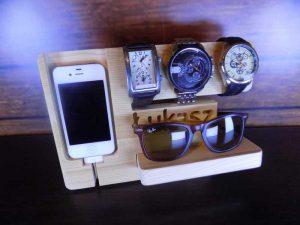 organizer na telefon i zegarki-modny organizer dla mezczyzny-inpiracje modowe-prezent dla niego-prezent dla mezczyzny 007