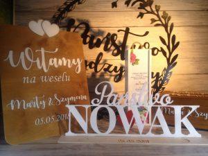 weselne inspiracje, inspiracje na wesele, napisy weselne, koło z imionami, serce z imionami, skrzynka na wino, skrzynki na wino, podziękowania dla rodziców, prezent dla rodziców na wesele, inspiracje, dekoracje, dekoracje weselne