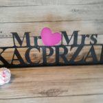 dekoracje weselne, dekoracje na wesele, inspiracje weselne, jak udekorować sale weselną, napisy weselne , napisyweselne.pl