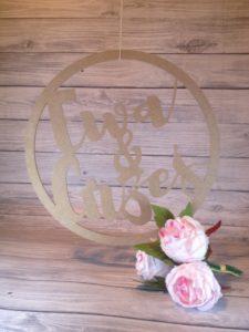 koło z imionami na wesele, koła na wesele, dekoracja sali weselnej, dekoracje weselne, inspiracje weselne, napisy weselne