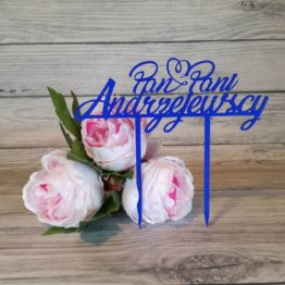 dekoracje na wesele, inspiracje weselne, inspiracje na wesele, topper, topper na tort, toppery, napisy weselne, napisyweselne.pl