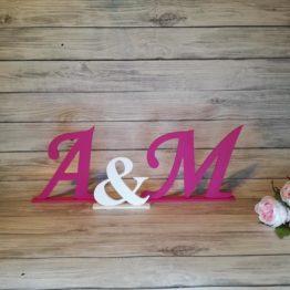inicjały na stół, weselny, inicjały, dekoracje na wesele, dekoracje weselne, napisy na wesele, napisy weselne, inspiracje weselne, weselne inspiracje,