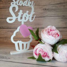 słodki stół, napis na słodki stół, słodki stół, dekoracja sali weselnej, weselne inspiracje, napisy weselne