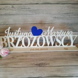 napisy na stół, napisy na wesele, napis na stół, napis na wesele, dekoracja weselna, dekoracje weselne, udekorować sale, napisy weselne