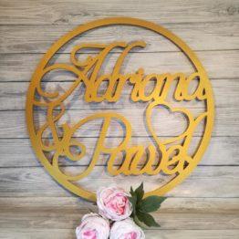 koła z imionami na wesele, koło z imionami na wesele, koło na wesele, koła na wesele, na wesele, cuda z drewna, cuda na wesele, koła z drewna, dekoracje z drewna, napisy na wesele