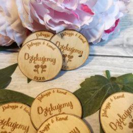 magnesy jako prezent dla gości weselnych, magnesy dla gości weselnych, upominki dla gości weselnych, upominki na wesele, upominki wesele