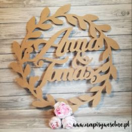 koło wianek na wesele, koła wianek na wesele, koło wianek z imionami, koła wianek z imionami, koło roślinne, koła roślinne, napisy na wesele, dekoracje weselne,