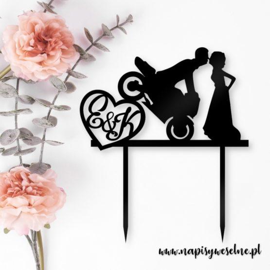 topper motocykl, toppery motocykl, topper na wesele z motocyklem, toppery na wesele z motocyklem, topper motor, toppery motor, topper na wesele, toppery na wesele, napisy na wesele, dekoracje weselne, dekoracja tortu na wesele,