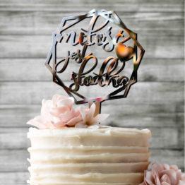 topper lustrzany, toppery lustrzane, topper lustro, toppery lustro, topper miłość jest słodka, toppery miłość jest słodka, napisy na wesele, napisy weselne,