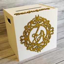 pudełko na koperty glamour, pudełka na koperty glamour, pudełka na koperty, pudełka na wesele, pudełko na wesele, pudełka weselne, pudełko ornament na wesele, 2