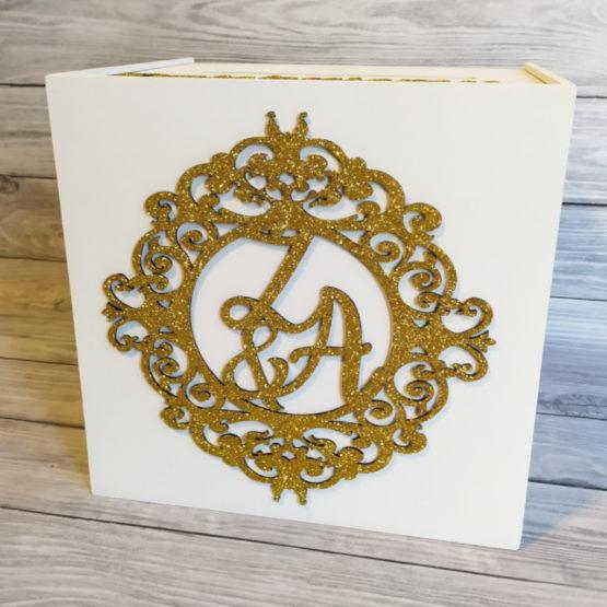 pudełko na koperty glamour, pudełka na koperty glamour, pudełka na koperty, pudełka na wesele, pudełko na wesele, pudełka weselne, pudełko ornament na wesele, 4