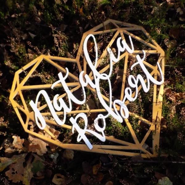 serce na wesele, serca na wesele, serce geometryczne na wesele, serca geometryczne na wesela, geometryczne serce na wesele, geometryczne serca z imionami, napisy weselne,