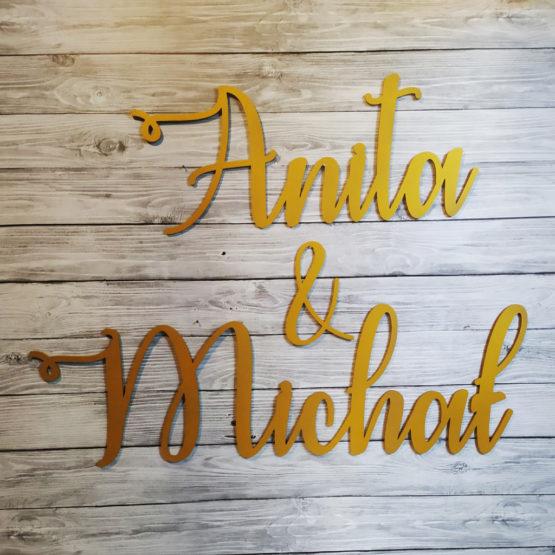 imiona na wesele, imiona na ściankę weselną, imiona na ścianki, napisy na ścianki weselne, napisy weselne, napisyweselne, dekoracje weselne, 1