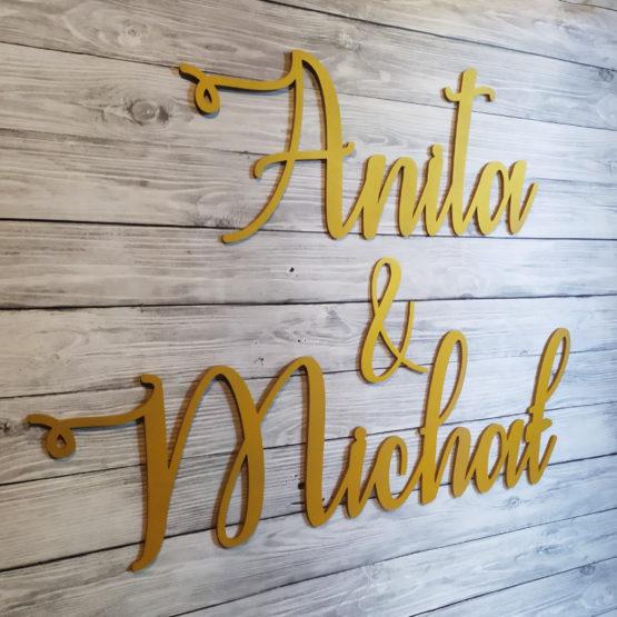 imiona na wesele, imiona na ściankę weselną, imiona na ścianki, napisy na ścianki weselne, napisy weselne, napisyweselne, dekoracje weselne, 2