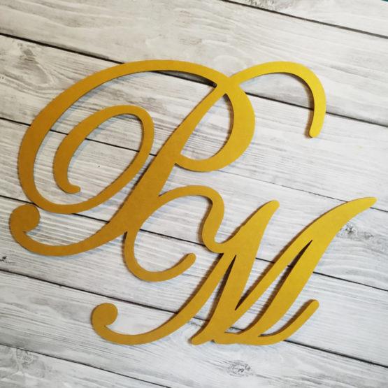 inicjały na wesele, inicjały na ściankę weselną, inicjały ślubne, inicjały weselne, dekoracje na wesele, napisy na wesele, napisy weselne, dekoracje na wesele, 4